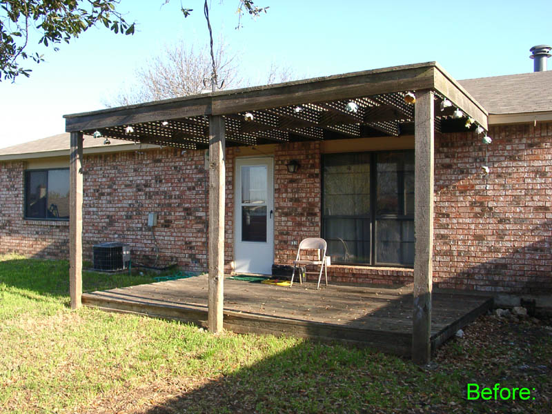 Deck And Shade Covering