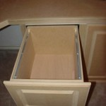 A letter sized file drawer.